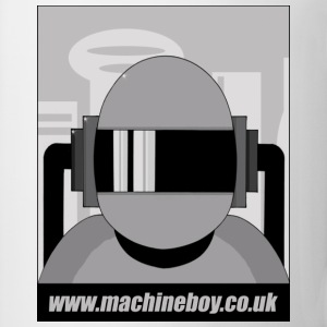 White Machine Boy - Action Figures T-Shirts - Mug