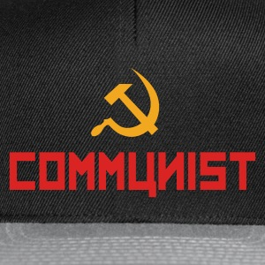 Communist with hammer and sickle Hoodies & Sweatshirts - Snapback Cap