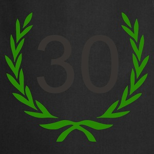 Sort 30 birthday T-Shirts - Forklæde
