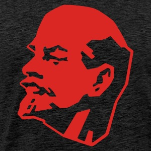 Brown Lenin Men's Longsleeves - Men's Premium T-Shirt