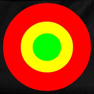 Black Rasta Target T-Shirts - Kids' Backpack