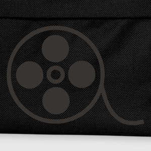 Schwarz Film Video Kino T-Shirt - Kinder Rucksack