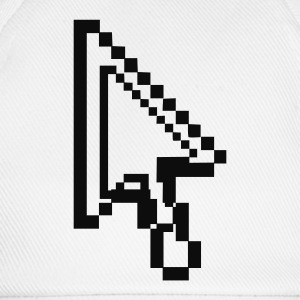 White Arrow Pixel Underwear - Baseball Cap