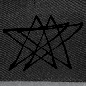 Sort Star Sweatshirts - Snapback Cap