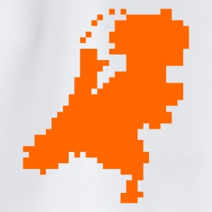 Vit Dutch pixel map holland Accessoar - Gymnastikpåse