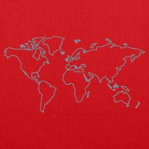 Red The World T-Shirts - Tote Bag