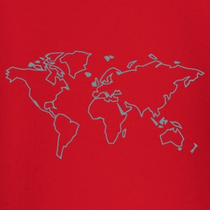 Red The World T-Shirts - Baby Long Sleeve T-Shirt
