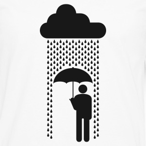 in the rain - Men's Premium Longsleeve Shirt