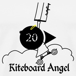 kite board angel Bags  - Men's Premium T-Shirt