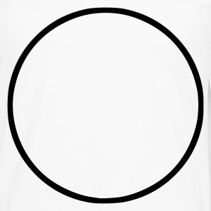 White circle T-Shirts - Men's Premium Longsleeve Shirt