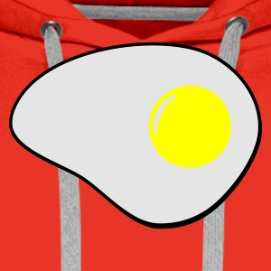 Red egg_3col_t_11 T-Shirts - Men's Premium Hoodie