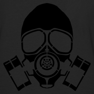 gas mask hooded jacket - Men's Premium Longsleeve Shirt