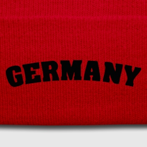 Red Germany Juniors - Winter Hat