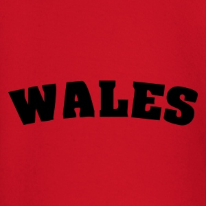 Red Wales Juniors - Baby Long Sleeve T-Shirt