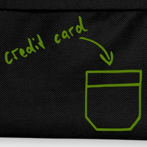 Svart Credit card hidden in your pocket T-shirt - Ryggsäck för barn