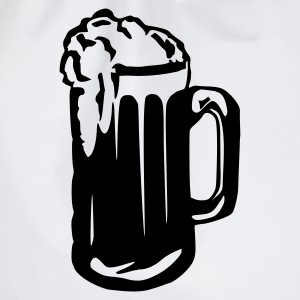 Vit Beer - Alcohol - Glass T-shirts (kort ärm) - Gymnastikpåse