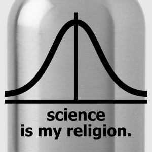 Marine Science is my religion T-shirts (m. courtes) - Gourde