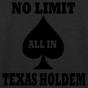 Black Texas Holdem Accessories - Men's Sweatshirt by Stanley & Stella