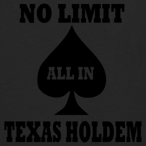 Black Texas Holdem Accessories - Men's Premium Longsleeve Shirt