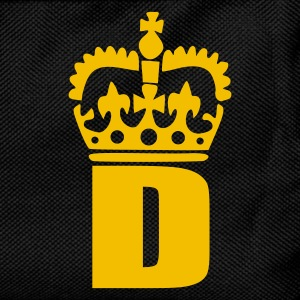 Black D - Crown - Letters T-Shirts - Kids' Backpack