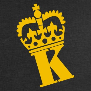Black K - Crown - Letters T-Shirts - Men's Sweatshirt by Stanley & Stella