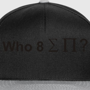 Who ate all the pies? - Snapback Cap