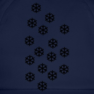 Navy Snow - Winter - Christmas Jumpers - Baseball Cap