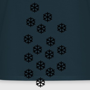 Navy Snow - Winter - Christmas Jumpers - Men's T-Shirt