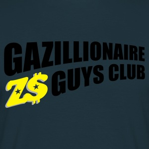 Navy gazillion1_t_11 Jumpers - Men's T-Shirt