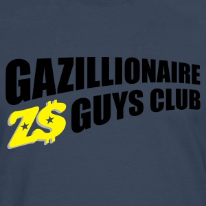 Navy gazillion1_t_11 Jumpers - Men's Premium Longsleeve Shirt