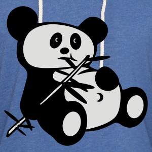 Light Blue Lazy panda Juniors - Light Unisex Sweatshirt Hoodie