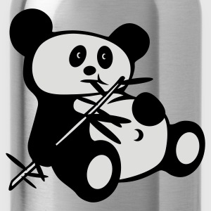 Red Lazy panda Juniors - Water Bottle