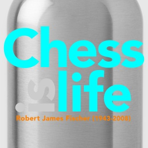 Koningsblauw chess_is_life Tassen - Drinkfles