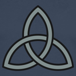 Navy triquetra Ladies' - Men's Premium Longsleeve Shirt