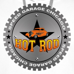 Hot Rod t-shirt - Sweat-shirt à capuche Premium pour hommes