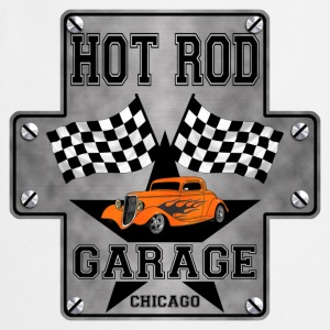 Hot Rod and racing flags - Tablier de cuisine