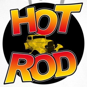 t-shirt Hot Rod - Sweat-shirt à capuche Premium pour hommes