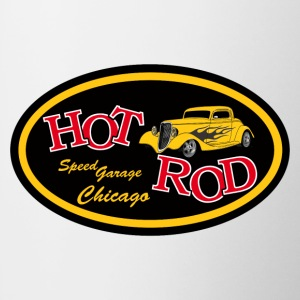 Hot Rod flaming - Tasse