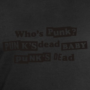 Black Punk's dead T-Shirt - Men's Sweatshirt by Stanley & Stella