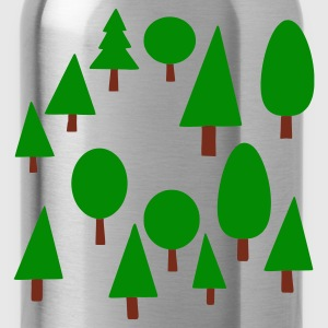 Navy forest Jumpers - Water Bottle