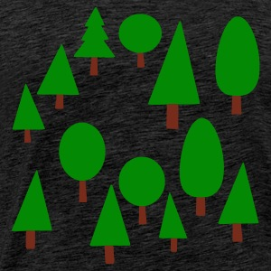 Green forest Jumpers - Men's Premium T-Shirt