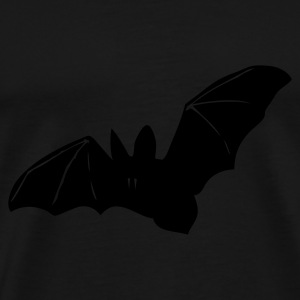 Black bat, halloween, a nightmare, cemetery, night, Vampire Jumpers - Men's Premium T-Shirt