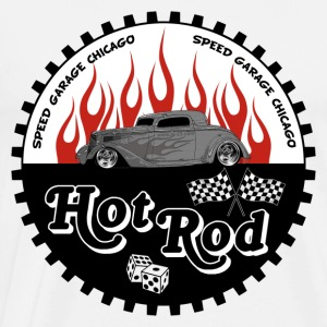 hot rod flamed - T-shirt Premium Homme