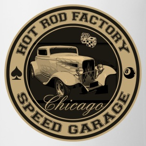 Hot Rod vintage logo - Tasse