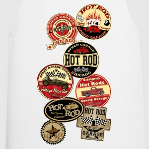 Hot Rod -vintage logo- - Tablier de cuisine