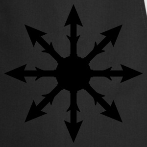 Black Chaos symbol Hood - Cooking Apron