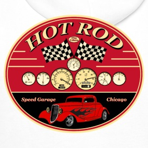 Hot Rod racing parts - Sweat-shirt à capuche Premium pour hommes