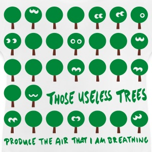 Wit Those useless trees Kinder shirts - Baby T-shirt