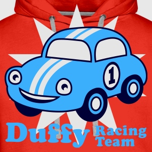 Red duffy racing team Juniors - Sudadera con capucha premium para hombre