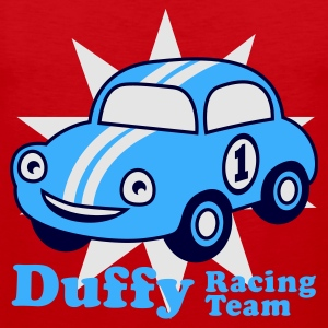 Red duffy racing team Juniors - Tank top premium hombre